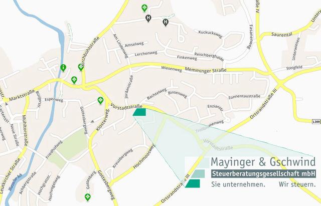 Bad Wurzach MG Karte